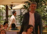 Otaviano Costa leva a filha, Olívia, para jantar em restaurante japonês. Fotos!