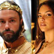 Novela 'O Rico e Lázaro': Evil-Merodaque desmaia no casamento com Shamiran