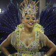 Juliana Alves brilha no desfile da Unidos da Tijuca, na Marquês de Sapucaí, na madrugada desta terça-feira, 4 de março de 2014