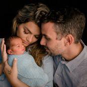 Kelly Key é criticada por foto amamentando e marido rebate: 'Cuida do seu peito'