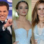 Silvio Santos provoca atriz por conta de Larissa Manoela: 'Queria namorado dela'