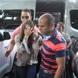 Emilly Araújo, campeã do 'BBB17', prestou depoimento na Delegacia Especial de Atendimento à Mulher
