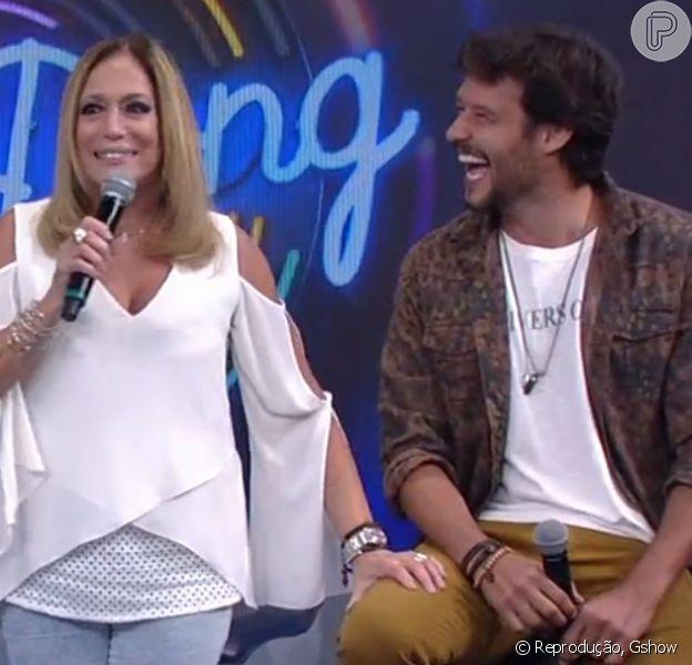 Susana Viera leva chamada de Nando Rodrigues ao dar spoiler de série: 'Não pode falar'