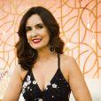 Pablo apareceu ao celular quando Fátima Bernardes divulgava a estreia da supersérie 'Os Dias Eram Assim'