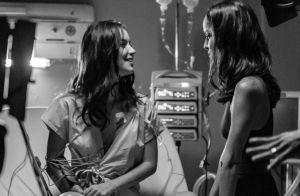 Nathalia Dill elogia dublê após morte de Lorena em 'Rock Story': 'A melhor!'