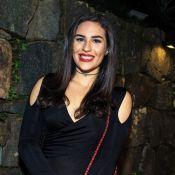 Lívian Aragão parabeniza namorado, José Marcos, e se declara: 'Me faz feliz'