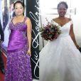 Ex-BBB Elis usa 2 vestidos em casamento repleto de colegas de confinamento nesta quinta-feira, dia 20 de abril de 2017