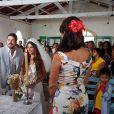 Ritinha (Isis Valverde) se casou com Zeca (Marco Pigossi) no civil e no religioso, em Parazinho, na novela 'A Força do Querer'