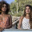 Marilda (Dandara Mariana) avisa Ritinha (Isis Valverde) que se ela der os documentos originais, os pais de Ruy (Fiuk) vão descobrir que ela já é casada, na novela 'A Força do Querer'