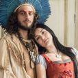 Anna (Isabelle Drummond) vai descobrir que está esperando um filho de Joaquim (Chay Suede) na novela 'Novo Mundo', em 1º de maio de 2017