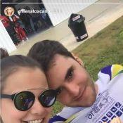 Milena Toscano é pedida em casamento por Pedro Ozores ao saltar de paraquedas