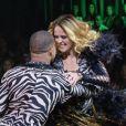 Juliana Silveira não conseguiu ensaiar a coreografia desta semana do 'Dancing Brasil' e, por isso, vai ser eliminada, diz o colunista Leo Dias, do jornal 'O Dia', nesta segunda-feira, 24 de abril de 2017