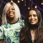 Anitta chama Ludmilla para substituí-la na apresentação do 'Música Boa Ao Vivo'