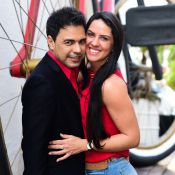 Zezé Di Camargo canta com Graciele Lacerda e fãs brincam: 'Luciano perdeu'.Vídeo