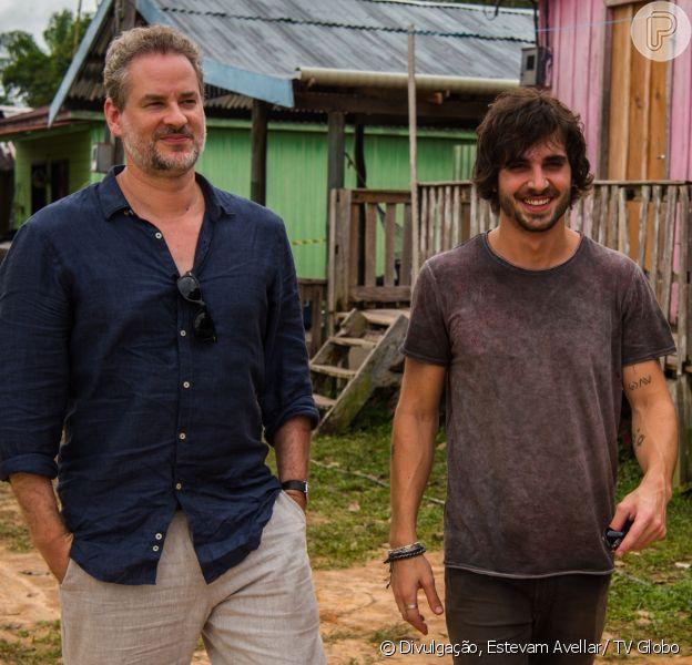 Eugênio (Dan Stulbach) assume as rédeas da situação e obriga Ruy (Fiuk) a assumir suas responsabilidades com Ritinha (Isis Valverde), na novela 'A Força do Querer', em abril de 2017