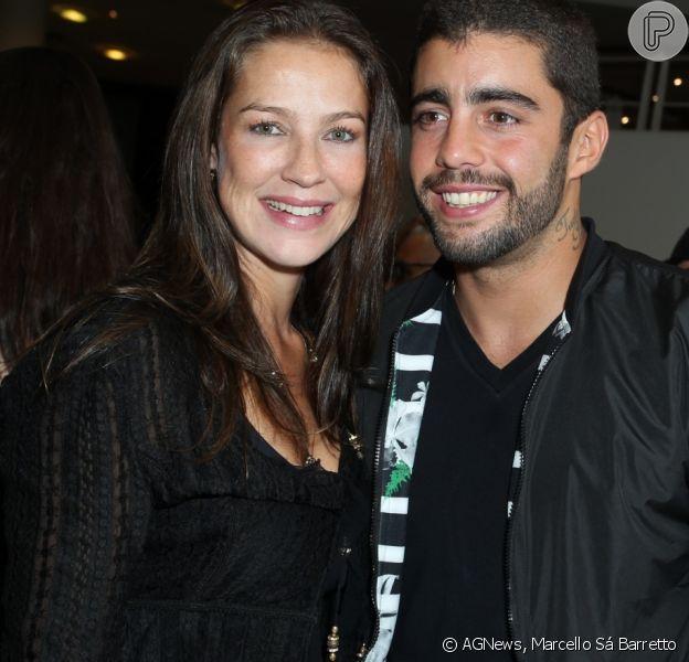 Luana Piovani e Pedro Scooby foram à pré-estreia do filme 'Vermelho Russo', no Rio, na última terça-feira, 25 de abril de 2017