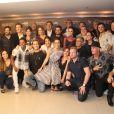 Famosos se reunem na pré-estreia do filme 'Ninguém Entra, Ninguém Sai', que aconteceu no shopping Rio Sul, em Botafogo, Zona Sul da cidade, na noite desta terça-feira, 25 de abril de 2017