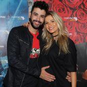 Gusttavo Lima filma filho se mexendo na barriga de Andressa Suita: 'Gabriel'