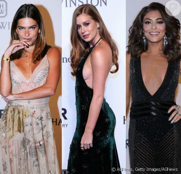 Mariana Goldfarb, Marina Ruy Barbosa, Juliana Paes e mais! Veja o look das famosas no baile de gala da amfAR!