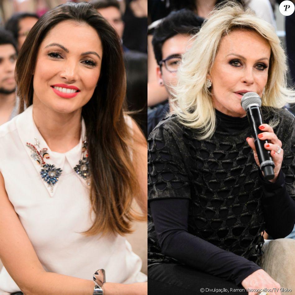 Patricia Poeta substituirá Ana Maria Braga no 'Mais Você' apenas na segunda-feira, 1º de maio de 2017