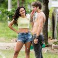 Em 'Rock Story', Giovana Cordeiro interpreta Stefany, que irá contar para Léo (Rafael Vitti) a verdade sobre sua mãe