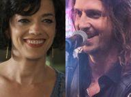 Novela 'Rock Story': Mariane, a mãe de Zac, invade palco e beija Gui em show