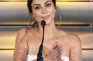 Fotos do bumbum de Kim Kardashian com celulite a faz perder 100 mil seguidores