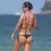 Juliana Paes rejeita bumbum aumentado com Photoshop: 'Prefiro como é'