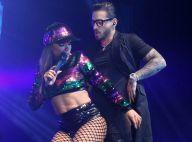 Anitta sensualiza com Maluma e ganha selinho do cantor em show no Rio. Fotos!