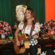 A música e diversão ficaram garantidas ao som da cantora Luka