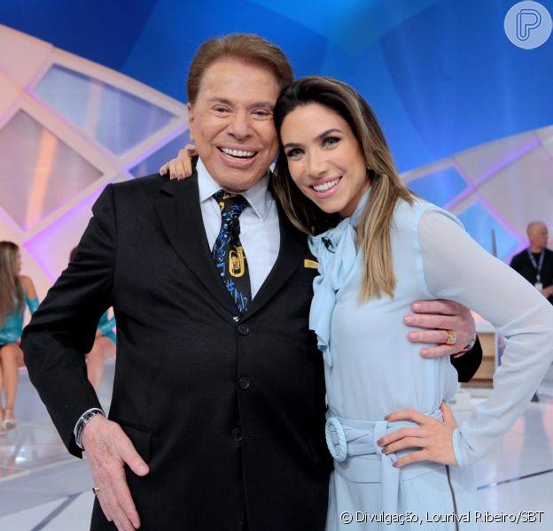 Silvio Santos falou sobre o casamento da filha Patricia Abravanel, que oficializou união com Fábio Faria no sábado, 29 de abril de 2017