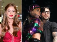 Marina Ruy Barbosa indica torcida por romance entre Anitta e Maluma: 'Eu shippo'