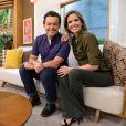 Mariana Ferrão comanda o matinal 'Bem Estar', da Globo, ao lado de Fernando Rocha