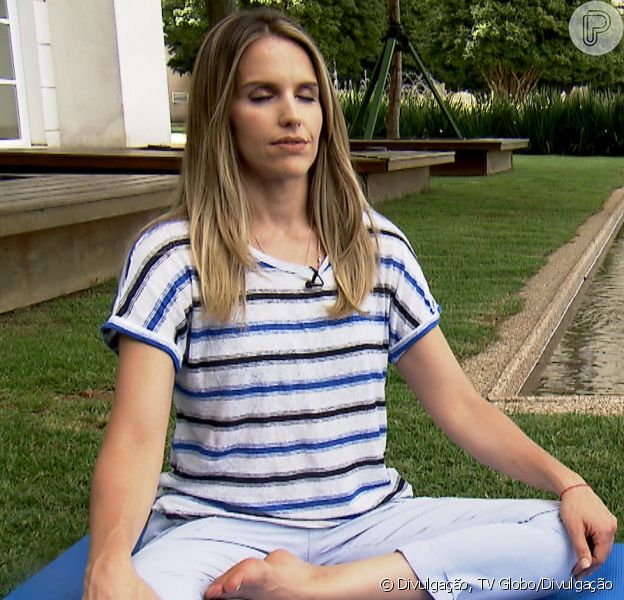 Mariana Ferrão, apresentadora do 'Bem Estar', encontrou na meditação a ajuda para afastar depressão. 'A meditação me ajudou muito a não afundar', contou