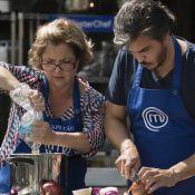Treta no 'MasterChef': Mirian troca farpa com Fabrizio. 'Vontade de dar na cara'