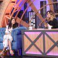 Tatá Werneck entrevistou Bela Gil no 'Lady Night' da última terça-feira, 2 de maio de 2017