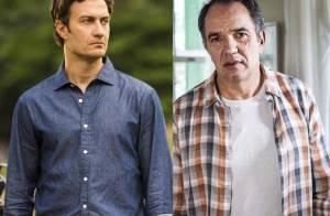 'Em Família':Virgílio bate em Laerte e o ameaça; 'Quer ficar com o mesmo sinal?'