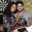 Aline Dias está grávida de seu primeiro filho, fruto do relacionamento com Rafael Cupello