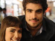 Maria Casadevall retribui elogio de Caio Castro: 'Contigo, amadureci também'