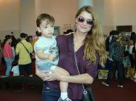 Alinne Moraes, de 'Rock Story', comemora 3 anos do filho com festa, no Rio