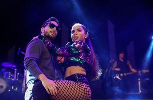 Maluma troca olhares com Anitta na TV e web vai à loucura: 'Olha esse casalzão'