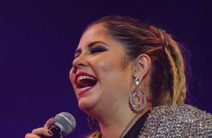 Marília Mendonça se emociona e chora durante show em São Paulo. Veja fotos!