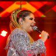 Marília Mendonça animou o público do Anhembi com seus sucessos