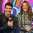 Juliano Laham demorou nove meses para apresentar a namorada, Juliana Paiva, à sua família