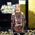 A modelo Jasmine Sanders de Balmain no MTV Movie and TV Awards, que aconteceu em Los Angeles, Estados Unidos, na noite deste domingo, 7 de maio de 2017