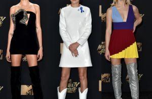 Botas viram tendência nos looks do MTV Movie & TV Awards 2017. Veja fotos!