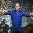 O cantor Diogo Nogueira se apresentou na Estudantina Musical em 'A Força do Querer'