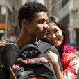 Juan Paiva faz par romântico com Ana Hikari em 'Malhação - Viva a Diferença'