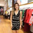 Ex-BBB Vivian foi convidada pela loja no Retiro para o lançamento da nova coleção