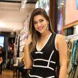 Ex-BBB Vivian é convidada da marca Miss & Misses, no Bom Retiro, em São Paulo